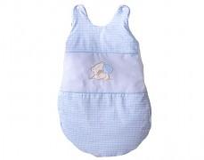 Dětský spací pytel modrý medvídek Love