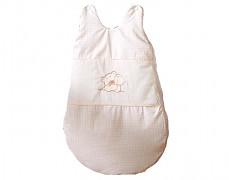 Dětský spací pytel béžový medvídek Love