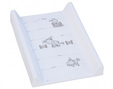 Přebalovací podložka bílá oslík s pevnou vložkou 50x70