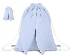 Batůžek modrý velvet