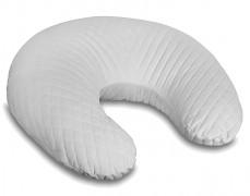 Kojící polštář šedý velvet