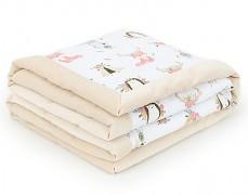 Dětská deka boho zvířátka velvet