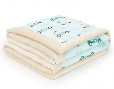 Dětská deka mint formule velvet