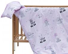 Dětské povlečení růžová zebra