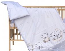 Dětské povlečení šedé medvíďata