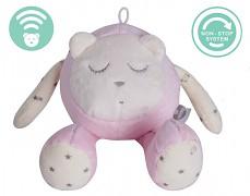 Růžový šumíček- snímač spánku