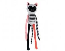 Plyšový růžový lemur