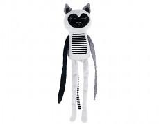 Plyšový šedý lemur