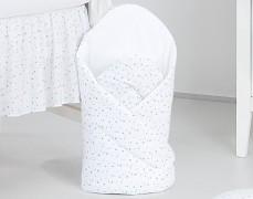 Zavinovačka bílé mini hvězdičky