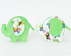 Polštářek papoušci slonik