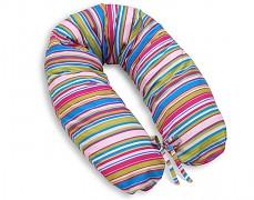 Relaxační polštář fialové proužky