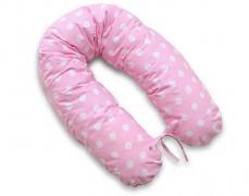 Relaxační polštář růžový puntík