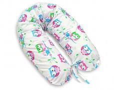 Relaxační polštář bílé sovičky