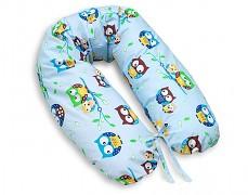 Relaxační polštář modré sovičky
