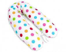 Relaxační polštář barevné puntíky