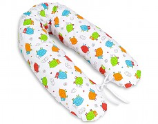Relaxační polštář barevné ovečky