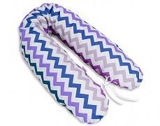 Relaxační polštář fialový ZigZag
