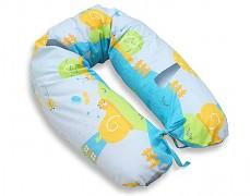 Relaxační polštář modrý hlemýžď