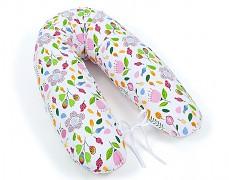 Relaxační polštář růžové květy