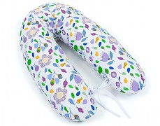 Relaxační polštář fialové květy