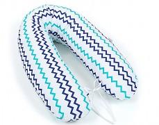 Relaxační polštář modro-zelený