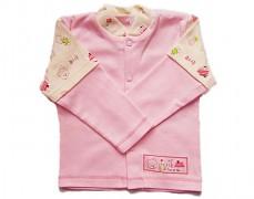 Kabátek růžový