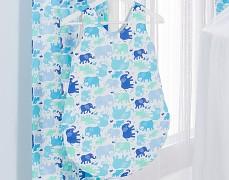 Dětský spací pytel modří sloníci