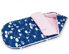 Fusak modro-růžové labutě