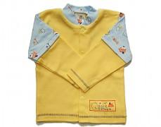 Kabátek žlutý