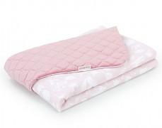 Dětská deka růžový les velvet, LETNÍ