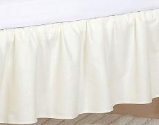 Volánek pod matraci béžové slůně