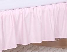 Volánek pod matraci růžové slůně