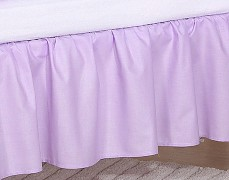 Volánek pod matraci fialové slůně