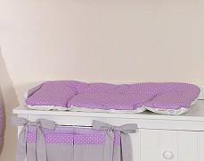 Přebalovací podložka fialové slůně