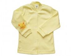 Kabátek žlutý s koťátkem vel.74