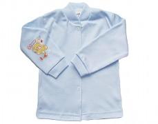 Kabátek modrý s medvídkem vel.74
