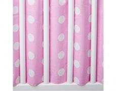 Volánek pod matraci růžový puntík
