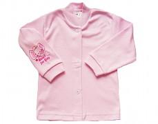 Kabátek růžový se sloníkem vel.62