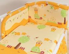 Mantinel oranžový hlemýždí domek