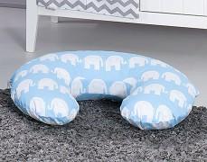 Kojící polštář modrý slon
