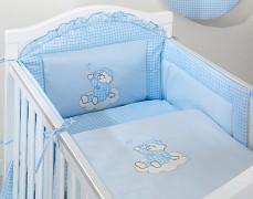 Mantinel modrý obláček kostička