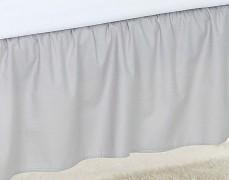 Volánek pod matraci šedý