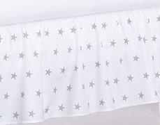 Volánek pod matraci šedá hvězda