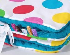 Set barevné puntíky velké