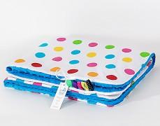 Deka barevné puntíky, LETNÍ 75x100