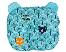 Podhlavníček modrý forest medvídek