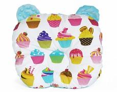 Podhlavníček cup cakes medvídek