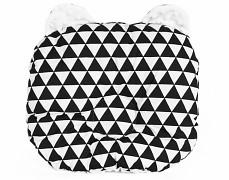 Podhlavníček trojúhelníky medvídek