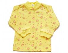 Kabátek žlutý s ovečkami vel.86