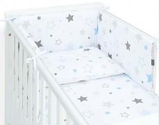 Mantinel modro-šedá stars